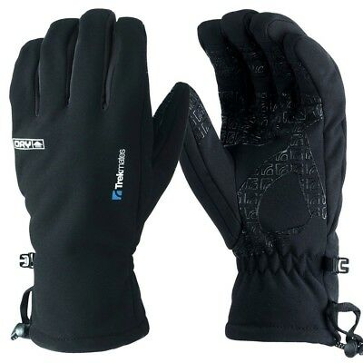 Trekmates Robinson Glove Men M - high-quality soft shell finger gloves with DRY