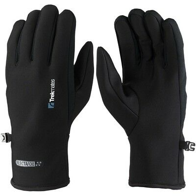 Trekmates Brandreth Glove S - light micro fleece finger gloves, usable as inner