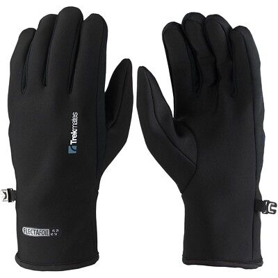 Trekmates Brandreth Glove M - light micro fleece finger gloves, usable as inner