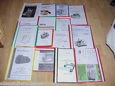 Industrial Singer 307G Sewing Machine Owner Manual and parts list
