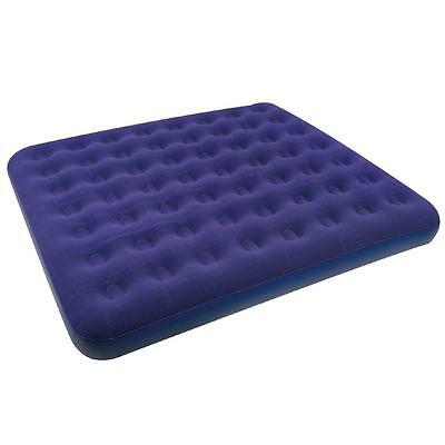 Jilong King Size CB - maxi double air bed, extra wide, velour reclining area, 20