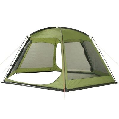 10T Pavilionia - 6-corner gazebo with insect protection, 540x470x220 cm, green,