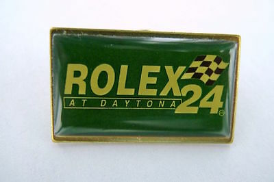"""Scarce Vintage Rolex """" At Daytona 24 """" Badge. New Old Stock, 31Mm Wide. Style 1"""