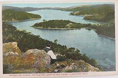 1906 Gd & Dl Series Colour Postcard. Kuringai Chase From Flagstaff Hill.