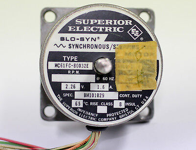 Superior Electric Slo Syn Synchronous Stepping Motor Cad