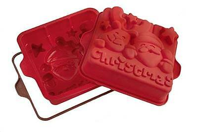 SILIKOMART STAMPO FORMA SILICONE FORNO JINGLE BELLS NATALE RENNA SFT 333 mshop