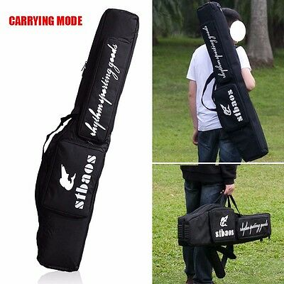 1.2m Waterproof Carp Fishing Rod Holdall Bag Carry Case Outdoor Tackle Backpack