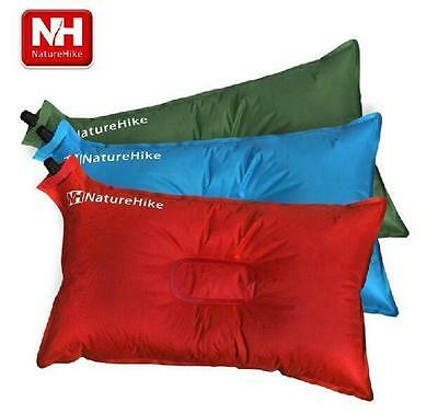 Outdoor Portable Soft Pillow Cushion Automatic Air Pillow For Camping Hiking 281