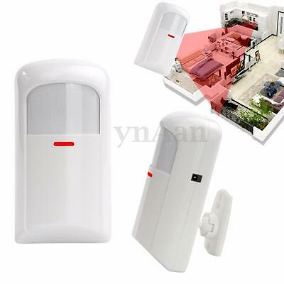 Wireless PIR Sensor Detector For GSM Home Security Burglar Alarm System 433mhz