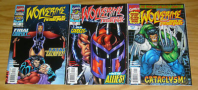 Wolverine: Days of Future Past #1-3 VF/NM complete series - magneto - marvel set