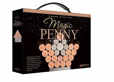 Magic Penny Toy Magnet Magnets Kit 4th Fourth Edition Kids Fun Playset Booklet