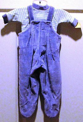 Preemie, Purple Velour 2-Piece Set - Appears New w/Tags - FREE Shipping