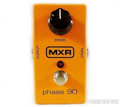 New! MXR M-101 Phase 90 Phaser Guitar Effects Pedal M101 - Free US 48 Shipping!