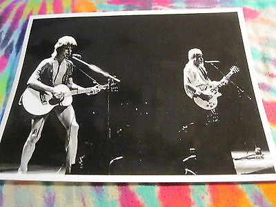"""David Bowie / Mick Ronson On Stage - 8"""" X 10""""  Photo # 12 ------  Photo"""