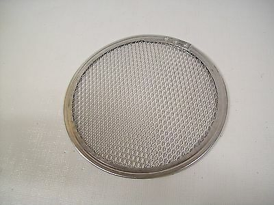 "Lot of 5  Allied 8"" Hard Aluminum Round Pizza Screens PS8"