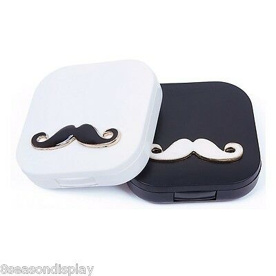 FL 1PC New Contact Lens Case Container Travel Portable Kit Holder Mirror Box Set