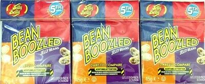 3x Jelly Belly Bean Boozled Jelly Beans Flip Top Box 45g Harry Potter Gut & Böse