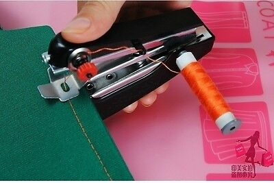 Hot Portable Needlework Cordless Mini Hand-Held Clothes Fabrics Sewing Machine