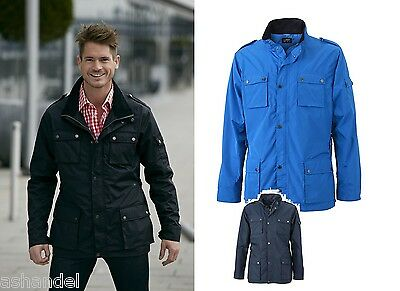 JN1056 JAMES & NICHOLSON Men's Urban Style Jacket Stylische HerrenFreizeitjacke