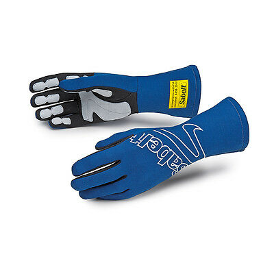 Sabelt Racing FG-150 Z1219 FIA Fireproof Stage Race Rally Drivers Nomex Gloves