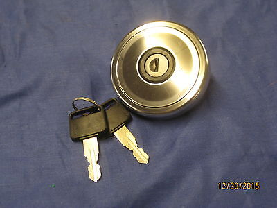 MG   NEW MGB OR MIDGET  STAINLESS STEEL  LOCKING PETROL FUEL CAP   Oa12   ***