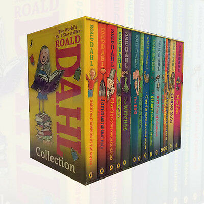 Roald Dahl Collection 15 Book Gift Box Set Matilda ,Boy Tales of Childhood New