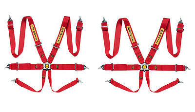 Sabelt 6 point Harness Pack CCB633PACK FIA Steel ECO