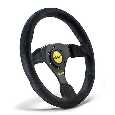 Sabelt SW-633 RFVO2010X Steering Wheel Black Suede 330mm Race Rally