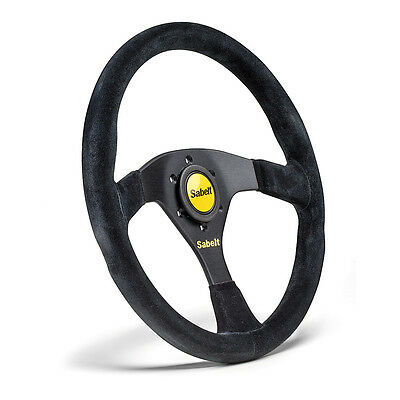 Sabelt SW-635 RFVO2007X Steering Wheel Black Suede 350mm Race Rally