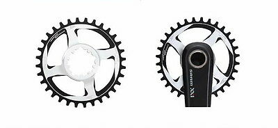 Aerozine SDM Narrow-Wide Single Chainring/Direct Mount/For Sram 10/11 Speed use