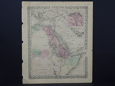 Colton's Maps, 1855, Authentic #35 Africa