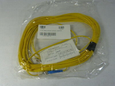 Optical Cable Corp STSC-SMD-15 Singlemode Duplex Optic Cable 15m ! NWB !
