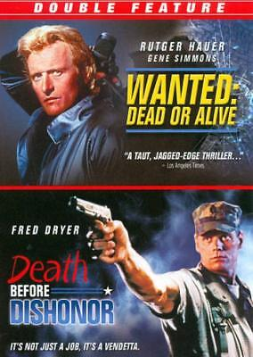 Wanted: Dead Or Alive/death Before Dishonor New Dvd