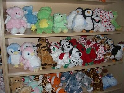 W-f-L TY Pluffies Selection Stuffed toy for Baby 25 cm Stuffed Animal Toy