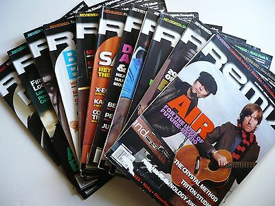REMIX MAGAZINE, LOT OF 11 ISSUES 2004, MISSING MAY Studio Production MUSIC