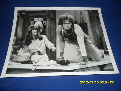 1980 THURSDAY AUGUST 7  ABC PHOTOGRAPH PRESS PHOTO MORK & MINDY Robin williams