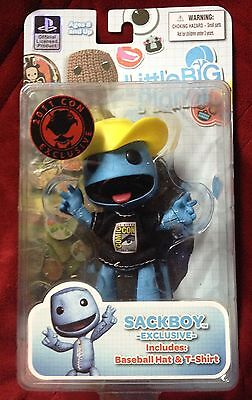 Mezco SDCC Comic Con Exclusive Sackboy Blue Little Big Planet 0696198360714 2011