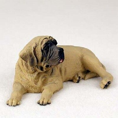 MASTIFF Dog HAND PAINTED FIGURINE Resin Statue COLLECTIBLE Puppy NEW