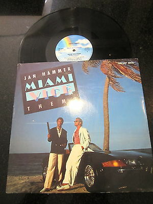 "Jan Hammer ""miami Vice Theme"" Uk Extended Remix 12"""