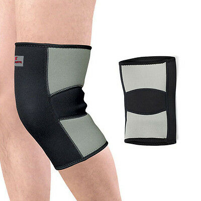 New Soft Warm Knee Protector Sports Tendon Training Elastic Knee Brace Supports