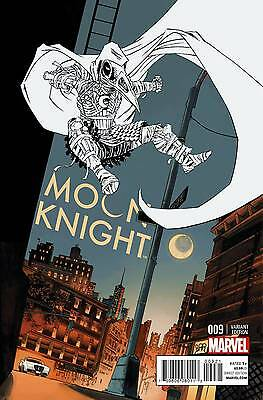 2015 Moon Knight #9 1:25 Shalvey Variant Cover! Rare!