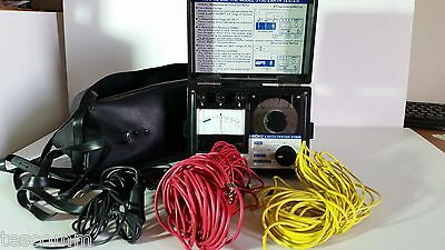 HIOKI Earth Tester 3150 with Case, and all Cables! Working!