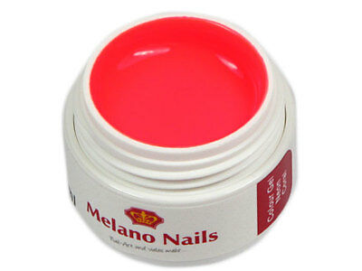 NEON Colour UV Gel Made in Germany 5ml Neon Coral 0579