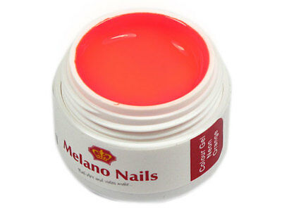 NEON Colour UV Gel Made in Germany 5ml Neon Orange 0342