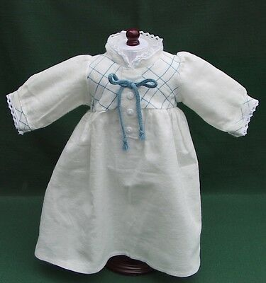 American Girl KIRSTEN Retired WINTER FLANNEL NIGHTGOWN with LACE TRIM REPRO