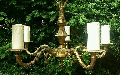 stunning gold gilt rococo baroque inspired style light fitting chandelier 5 arm baccarat zenith arm black crystal chandelier