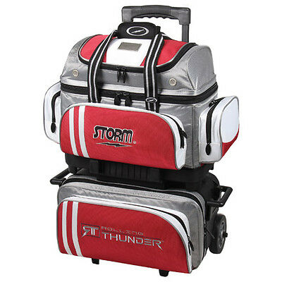Storm 4 Ball Rolling Thunder Bowling Premium Bag Grey Red White