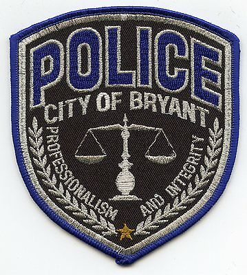 Bryant Arkansas Ar Police Patch