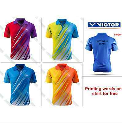2016 New Victor men's Tops table tennis clothing Badminton Only T-shirt