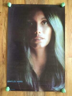 Emmylou Harris Original Promo Poster 1977 Country